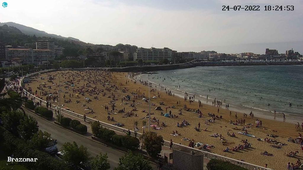Webcam Playa Brazomar Castro Urdiales 1