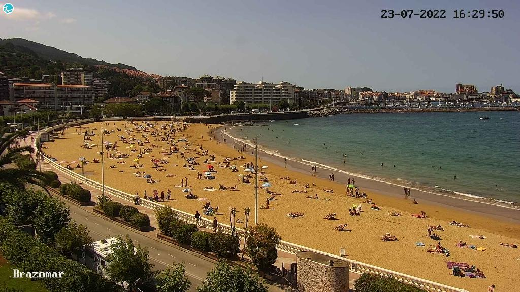Webcam Playa Brazomar Castro Urdiales 2